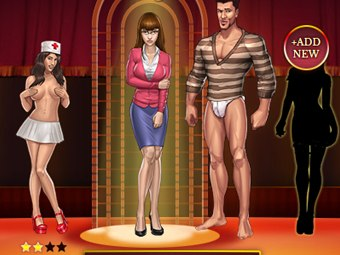 Real sex gangsters in free adult mobile game