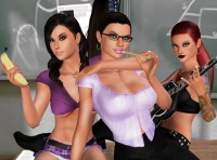 3D Sex Villa free game schoolgirl sex education