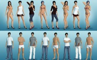 Sexy models in ChatHouse 3D multiplayer porn game