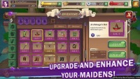 Upgrade and enhance crystal maidens