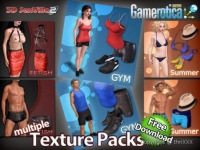 body textures clothes