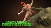 Big green hulk nails his sissy gay lover