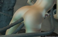 Horny hentai tentacles fuck tight anal and pussy holes