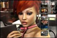 Sexy virtual girl