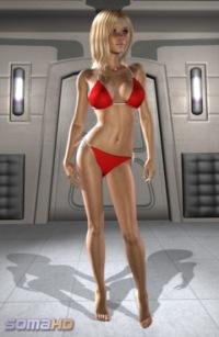 SomaVision red bikini babe