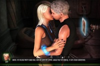Thorn-E cyber sex kissing